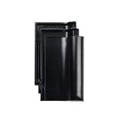 Dakpan Eternit Harmonica zwart edelengobe