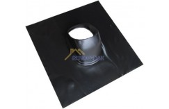 Panstuk loodslab voor dakdoorvoer 25 - 55 graden