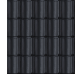 Dakpan Monier VH-V zwart glazura (aanbieding)