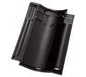 Dakpan VHV Koramic zwart verglaasd