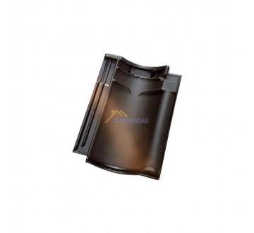 Dakpan VHV Koramic roestkleur zwart satinet